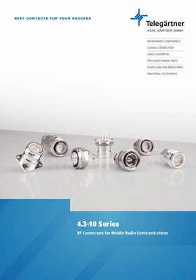 Coaxial Connectors 4.3-10 Series