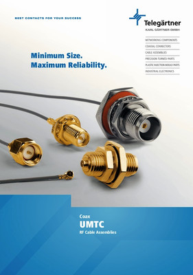 RF Cable Assemblies with UMTC