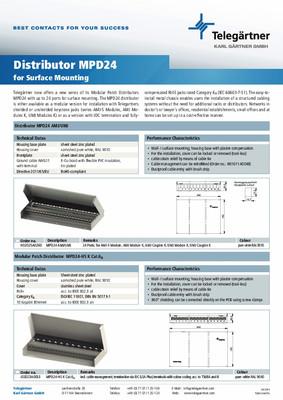 Distributor MPD24