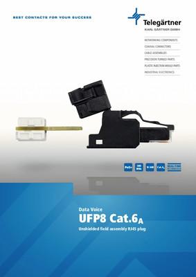 RJ45 plug UFP8