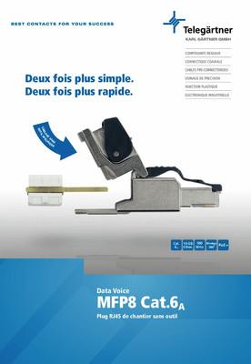Connecteur MFP8 Cat.6<sub>A</sub>