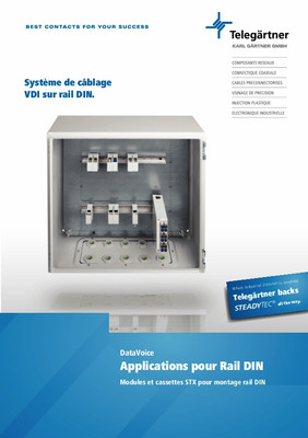 Applications pour Rail DIN