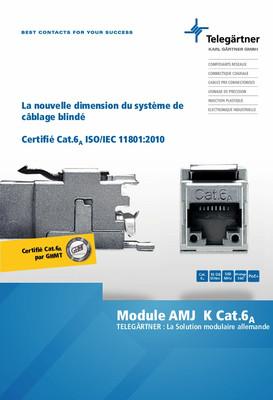 Module AMJ-K Cat.6<sub>A</sub>