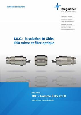 Series TOC RJ45 et optique
