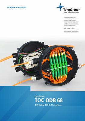 Distributeur IP68 de fibre optique