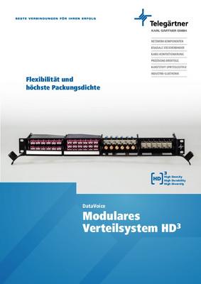 Modulares Verteilsystem HD3