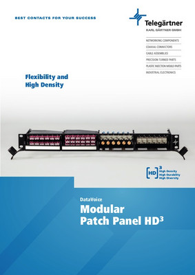 Modular Patch Panel HD3