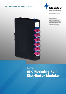 STX Mounting Rail Distributor Modular