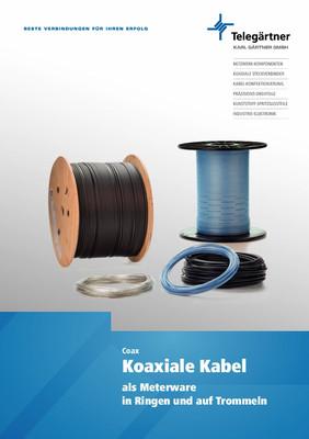 Koaxiale Kabel als Meterware