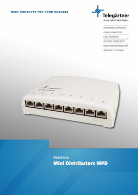MPD mini distributor