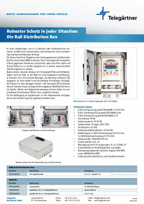 Rail Distribution Box