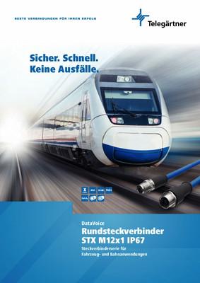 Steckverbinderserie für Fahrzeug- und Bahnanwendungen