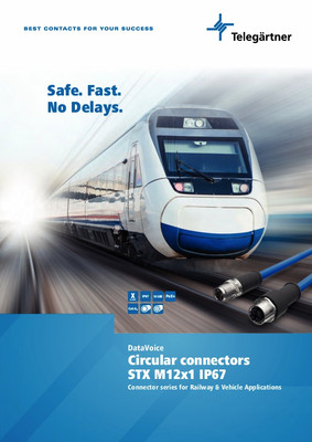 M12 Connectors for Railway & Vehicle Applications