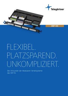 Modulares Verteilsystem HD3-ES
