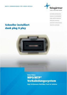 MPO/MTP Verkabelungssystem