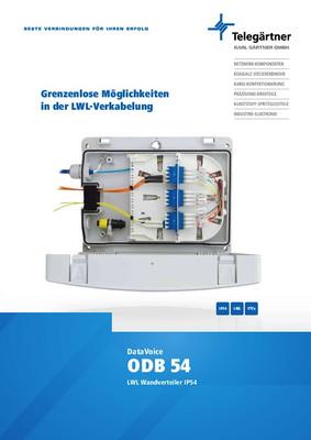 LWL-Wandverteiler ODB54