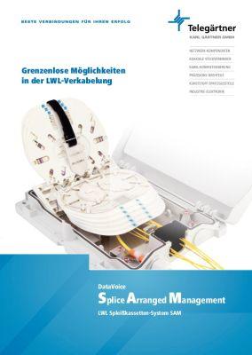 LWL-Spleißkassetten System SAM